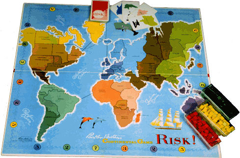Risk game of world conquest command post games command post games game gumiabroncs Gallery