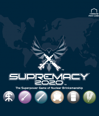 Supremacy 2020 logo Blue
