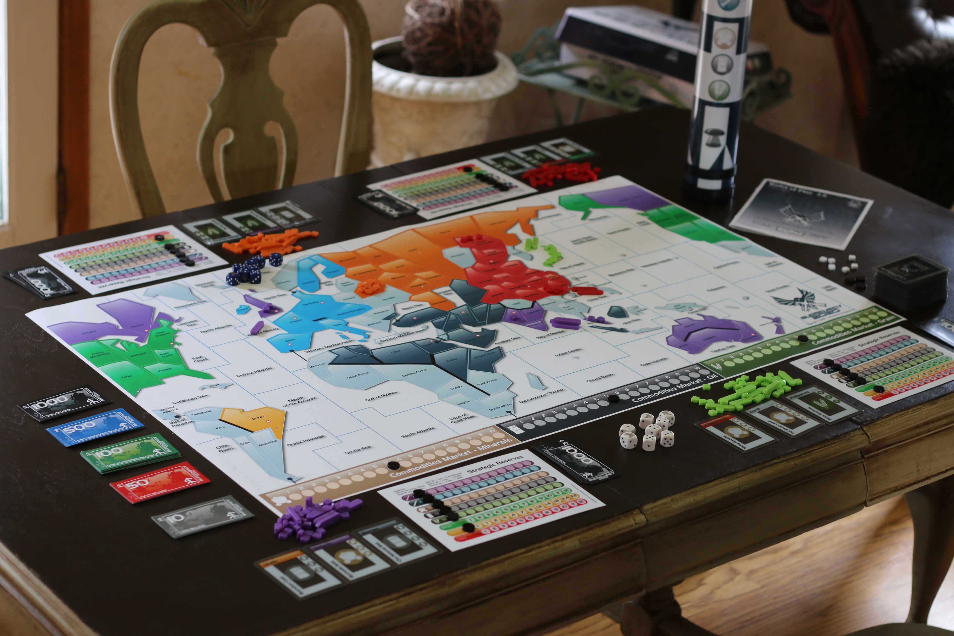 New Board Games 2020.Supremacy 2020