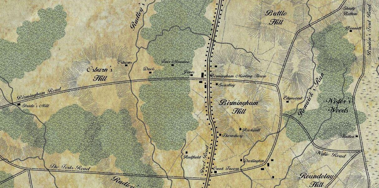 brandywine battlefield map - photo #40